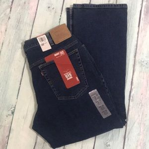 Levi's NWT boot cut dark denim size 16.